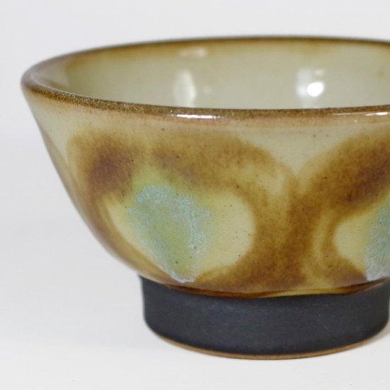 ノモ陶器製作所(野本周)|3.5寸マカイ(お茶碗) アメ 【やちむん】