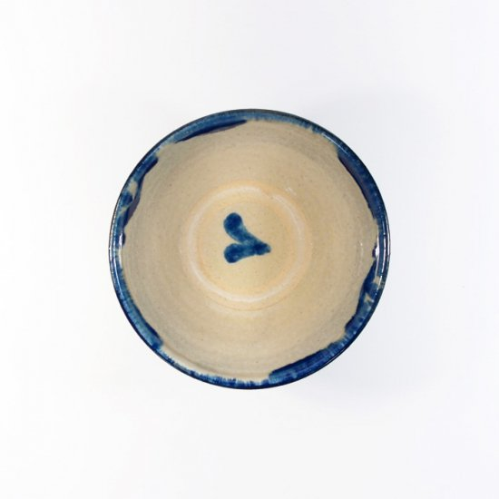 やちむん與那城(與那城 徹)|3.5寸マカイ(お茶碗) 重ね焼き 【やちむん】
