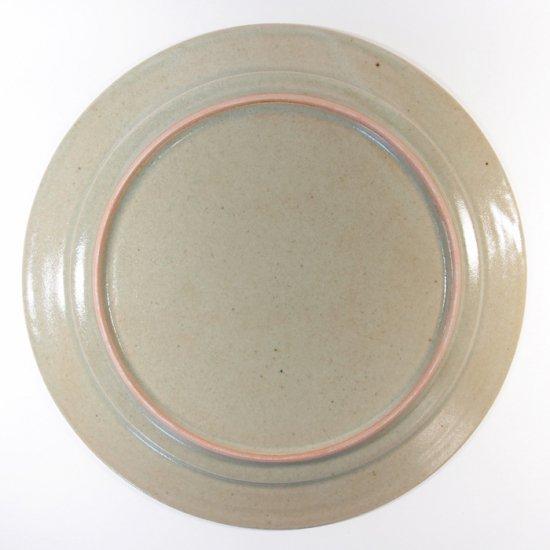 こいずみみゆき│8寸平皿 グリーン