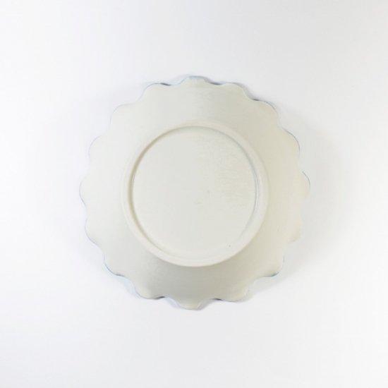 町田裕也|なみなみ小鉢(中)ふちブルー
