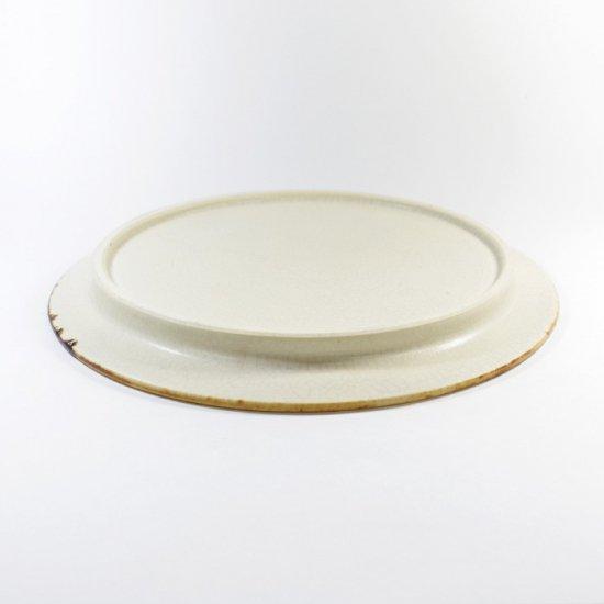 町田裕也|リム皿 6寸 ひび