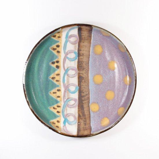 小林美風|立ち上がりのプレート皿 小 【d38】