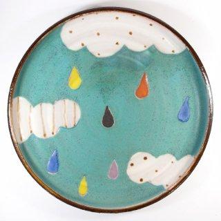 小林美風|立ち上がりのプレート皿 大 【d43】