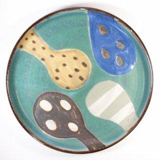 小林美風|立ち上がりのプレート皿 大 【d46】