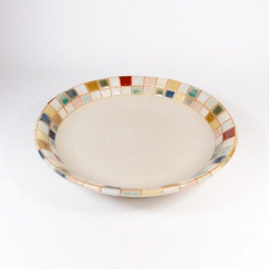 古川真紀子 モザイク文様 なます皿
