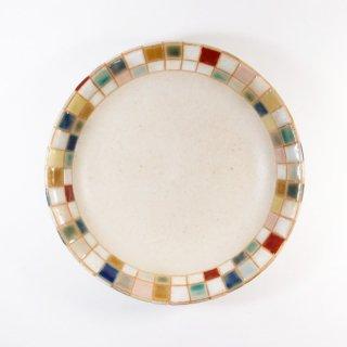 古川真紀子|モザイク文様 なます皿