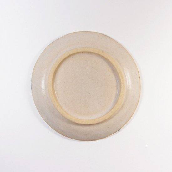 古川真紀子|モザイクタイル文様  4寸皿