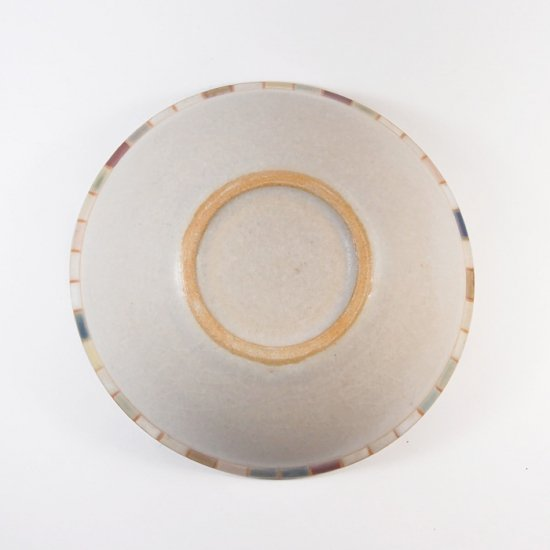 古川真紀子|モザイク文様 縁鉢