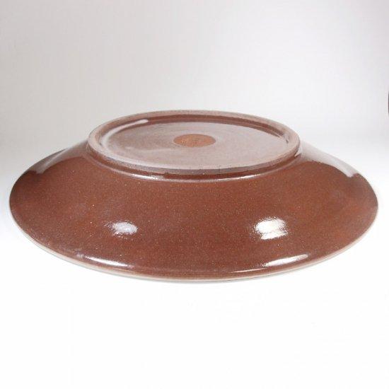 福嶋製陶│8寸皿 飛び鉋(トビカンナ)【小石原焼】