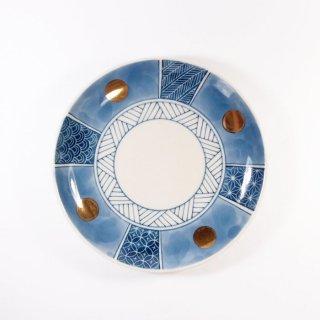 中川ひかり|4寸皿 和柄 【27】