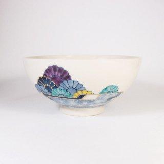 中川ひかり|茶碗 麻の葉と菊青海波 【34A】