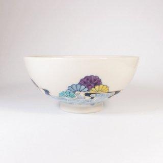 中川ひかり|茶碗 麻の葉と菊青海波 【34B】