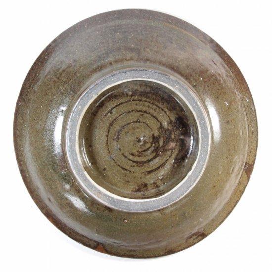 照屋窯(てるやがま)│6.5寸皿 重焼 点打【やちむん】