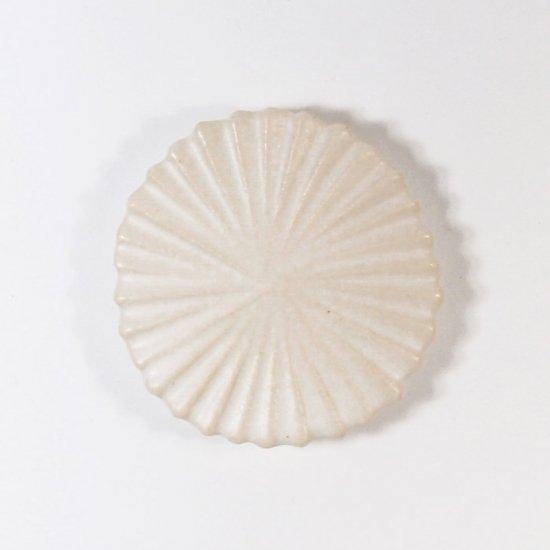 辻本路│箸置き(カトラリーレスト)  菊の花 白