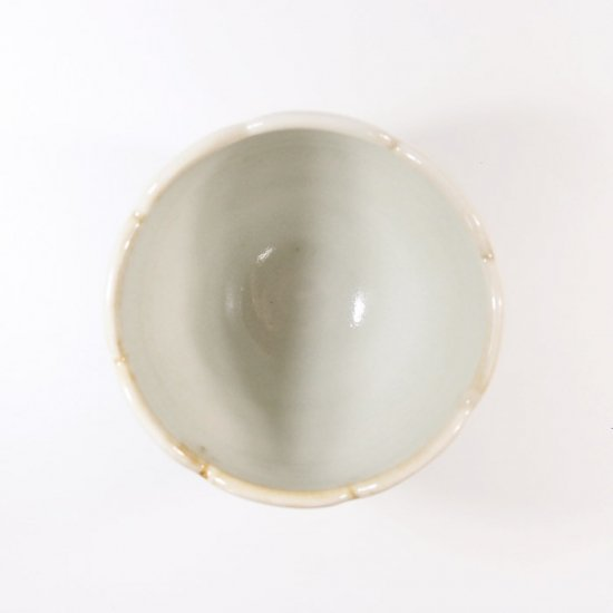 水谷和音│花カップ(灰釉)