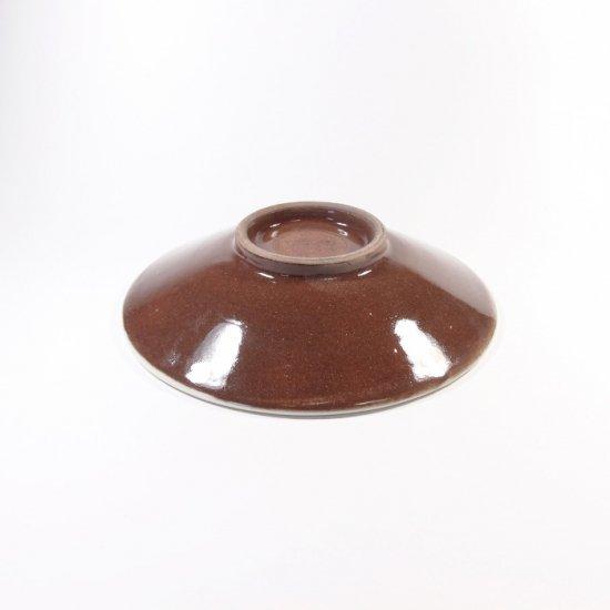 福嶋製陶│4寸皿 飛び鉋(トビカンナ)【小石原焼】