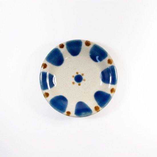 ノモ陶器製作所(野本周)|小皿 チチチャン コバルト【やちむん】
