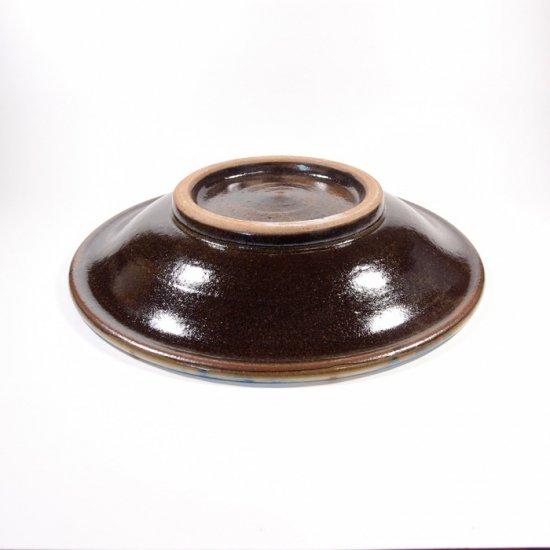 ノモ陶器製作所(野本周)|6寸皿 チチチャン コバルト【やちむん】