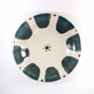 ノモ陶器製作所(野本周)|6寸皿 チチチャン ゴス【やちむん】