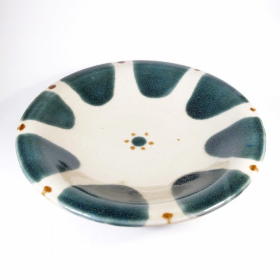 ノモ陶器製作所(野本周)|7寸皿 チチチャン ゴス【やちむん】