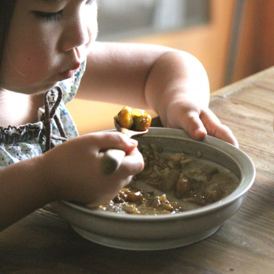 鈴木雄一郎(いにま陶房)|やさしい器 こどもカレー皿|トリノワ