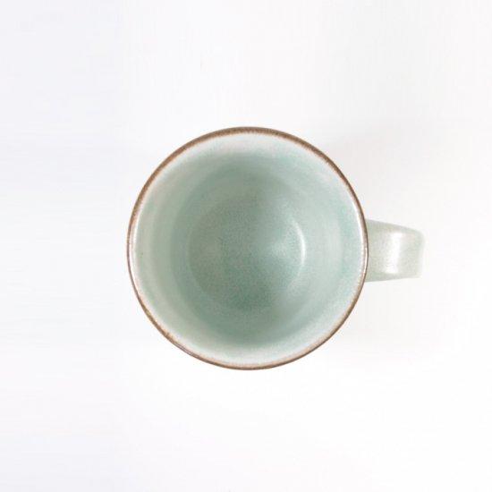 立原 亜紀子|マグカップ  水色(水色釉)