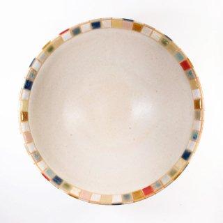 古川真紀子|モザイクタイル文様 鉢