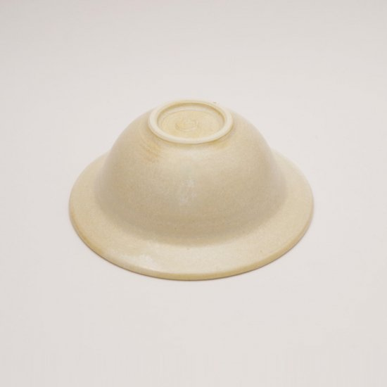 後藤奈々|帽子小鉢(チタン) 白