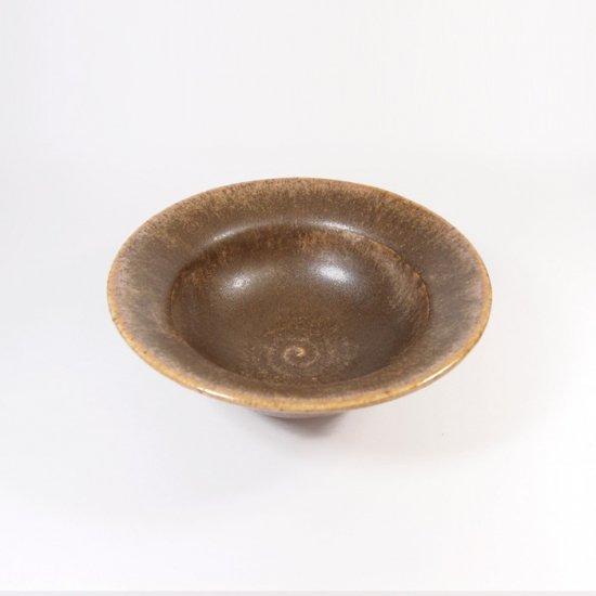後藤奈々|帽子小鉢(チタン) 茶