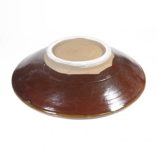 黒木富雄窯(小鹿田焼)|7寸皿 刷毛目 白