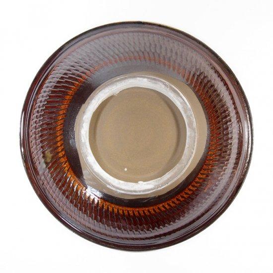 黒木富雄窯(小鹿田焼)|7寸中深皿 飛び鉋(フチに櫛目) 白