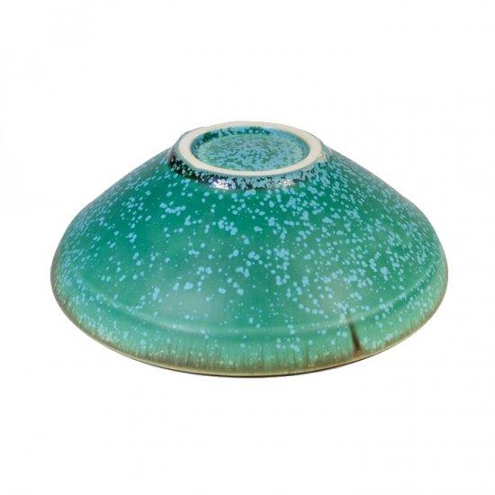 宮本めぐみ トルコ釉 サラダ鉢