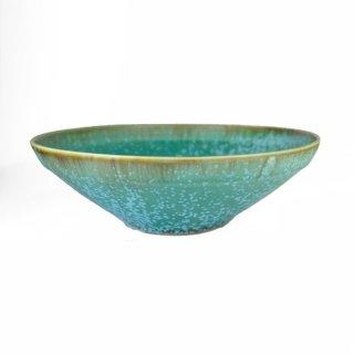 宮本めぐみ|トルコ釉 サラダ鉢