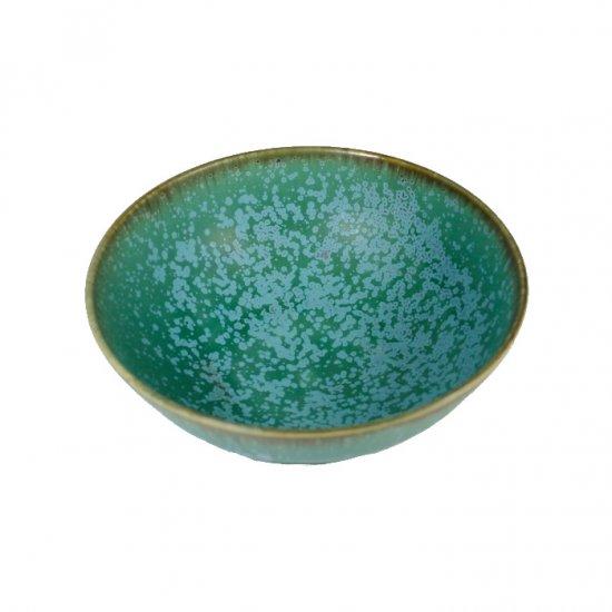 宮本めぐみ|トルコ釉 五寸鉢