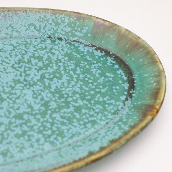 宮本めぐみ|トルコ釉 オーバル皿