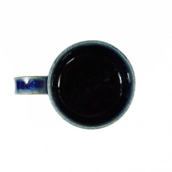 河内啓|マグカップ (小) ルリ釉