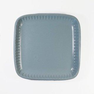 京野桂|角皿 ブルー