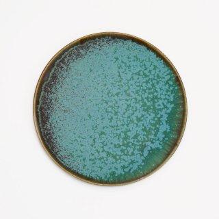 宮本めぐみ|トルコ釉 五寸皿