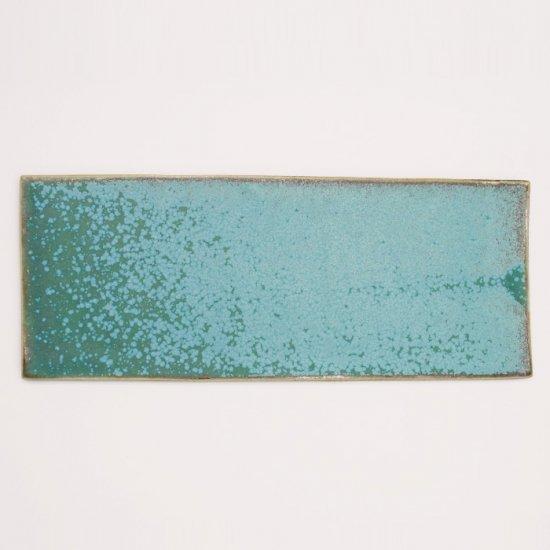 宮本めぐみ|トルコ釉 えんえん皿
