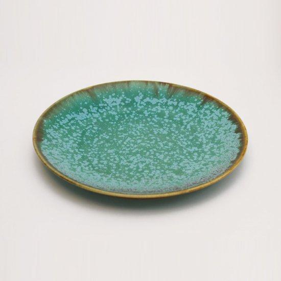 宮本めぐみ|トルコ釉 六寸皿