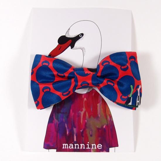 【クリックポストOK】mannine(マンナイン)|ボウタイL botanika park
