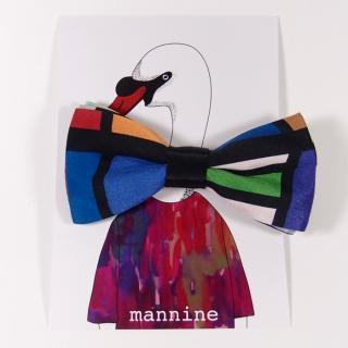 【クリックポストOK】mannine(マンナイン)|ボウタイL eyes