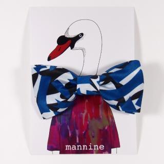 【クリックポストOK】mannine(マンナイン)|ボウタイL reuna