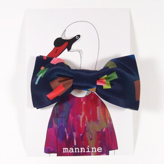 【クリックポストOK】mannine(マンナイン)|ボウタイL botanika flower
