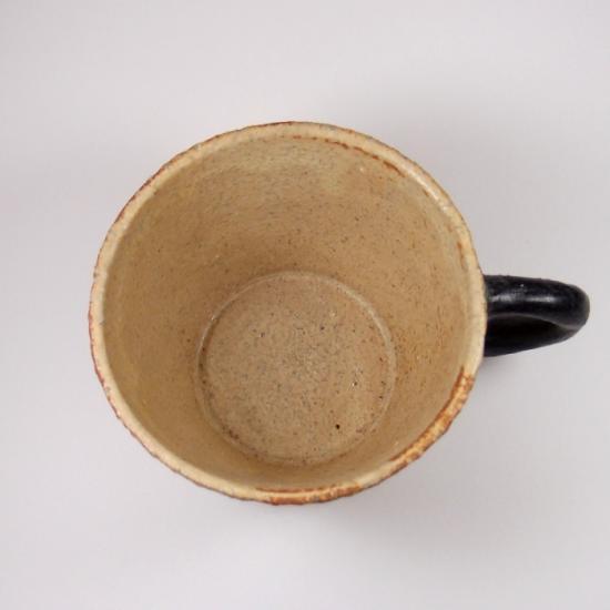 sunny-craft(サニークラフト)|カップ しのぎ きせと釉 黒ハンドル