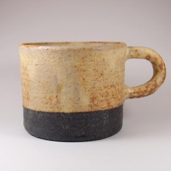 sunny-craft(サニークラフト)|カップ きせと釉 ツートン 黄×黒