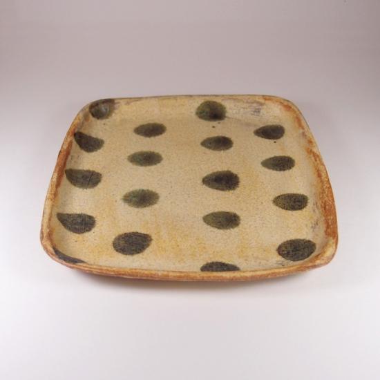 sunny-craft(サニークラフト)|パン皿 きせと釉 ドット
