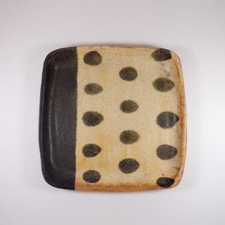 sunny-craft(サニークラフト)|パン皿 きせと釉 ラインドット
