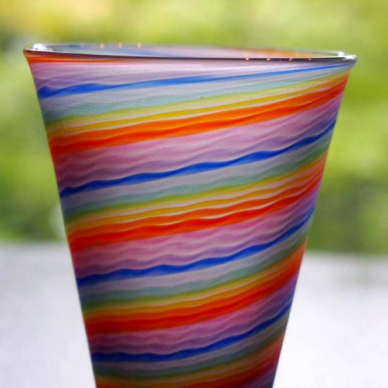 ガラス工房Merhaba(メルハバ)|ショットグラス Rainbow