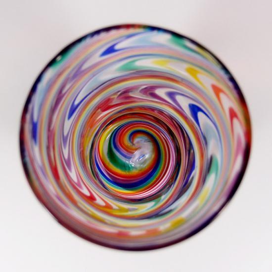 ガラス工房Merhaba(メルハバ)|タンブラーA Rainbow